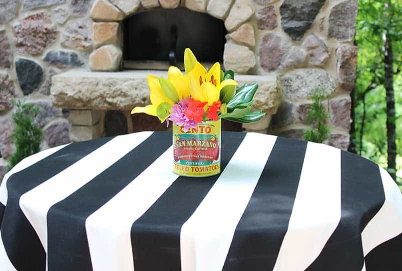 No-sew DIY tablecloth perfect for parties