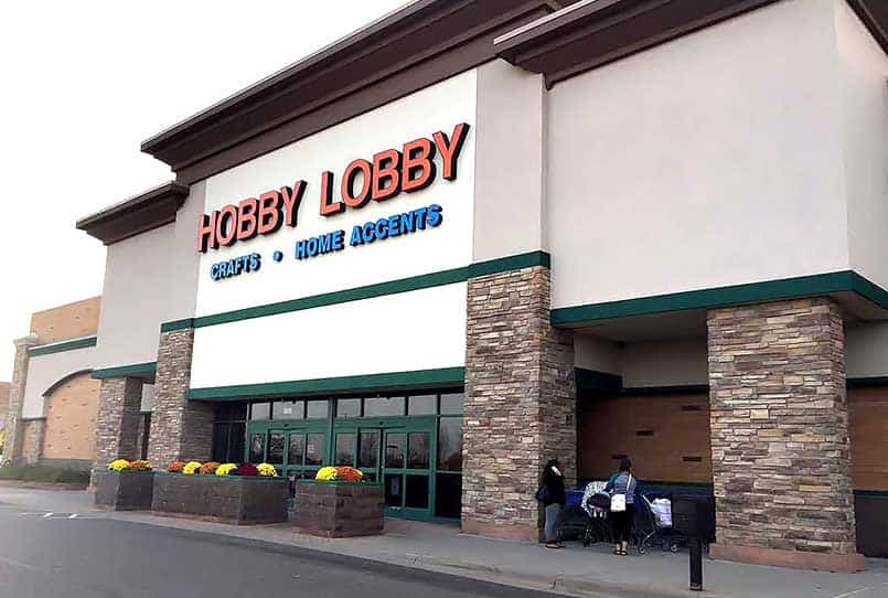 Hobby Lobby Arts & Crafts Supplies Store