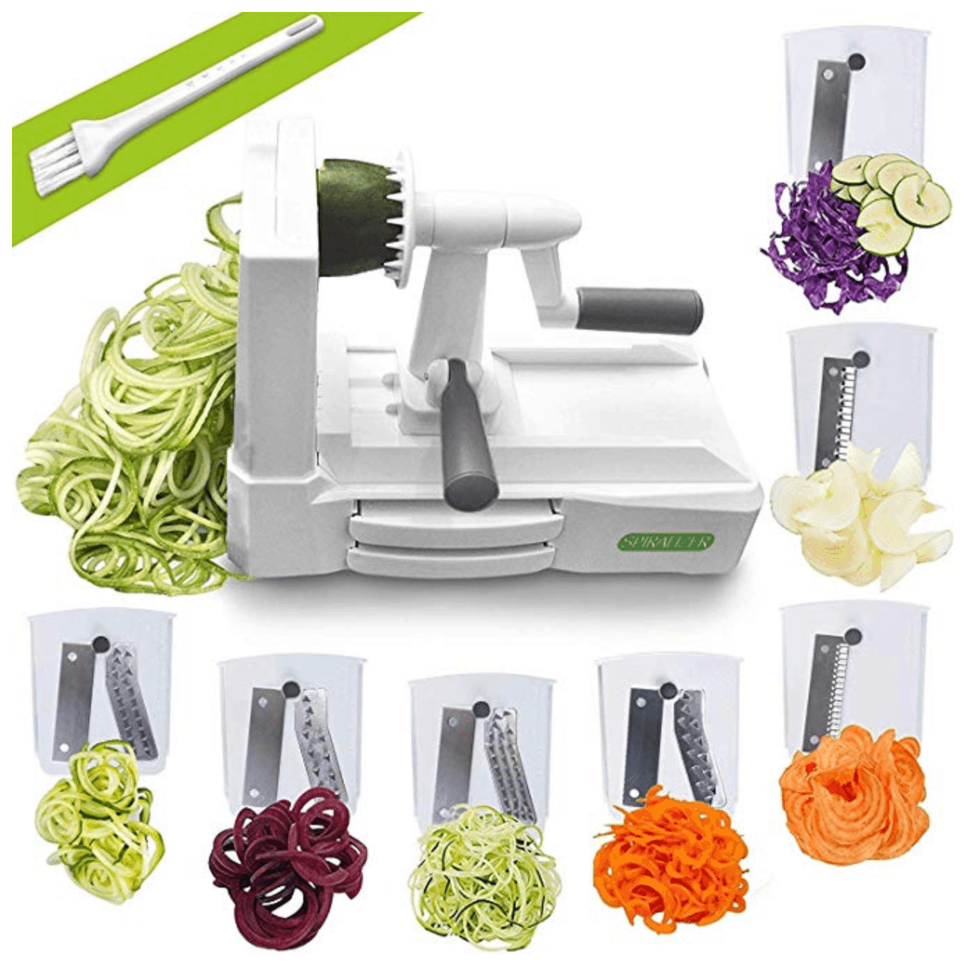 Inspiralizer Spiralizer that is a fun and easy vegetable noodle maker!