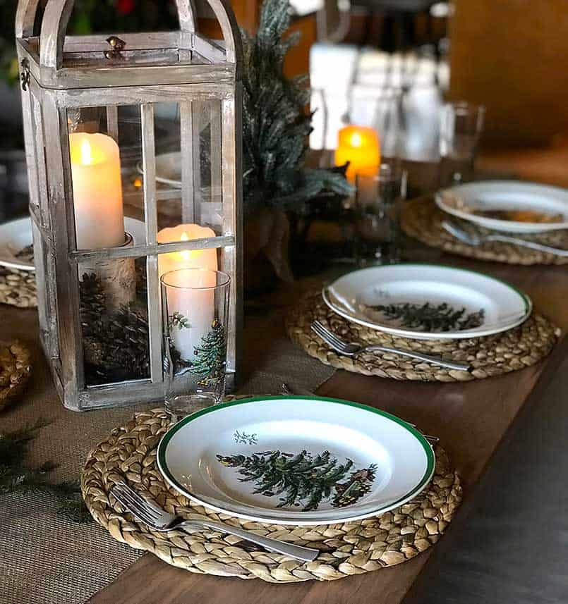 Holiday tablescaping inspiration