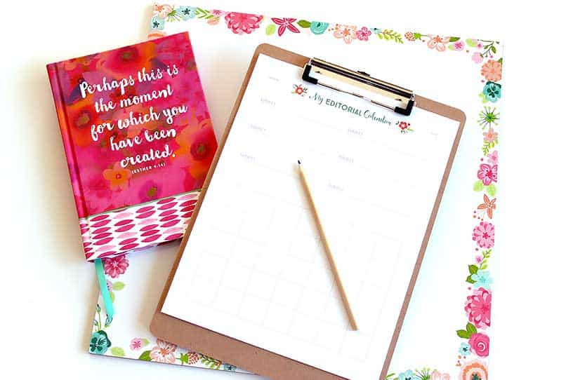 New Year Free Printables | Organization | Be Brave and Bloom