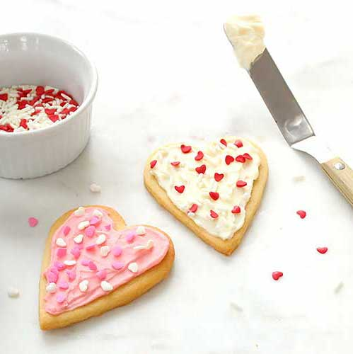 healthy decorated cut-out cookie recipe