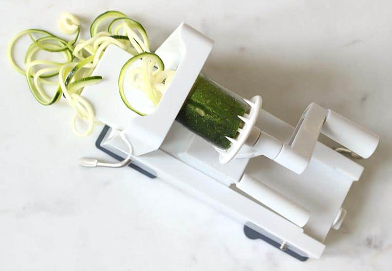 Inspiralizer is the spiralizer that is a fun and easy vegetable noodle maker!