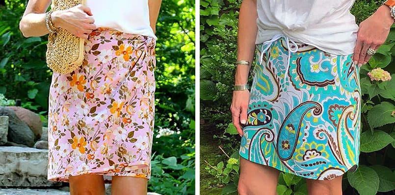 2 skirts to sew with tutorials