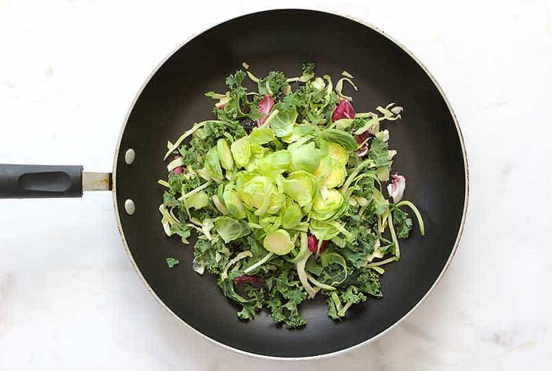 Trader Joe's Veggie Side Dish in a saute pan