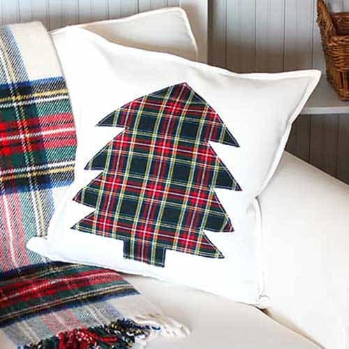 easy diy christmas pillow cover tutorial inspiration