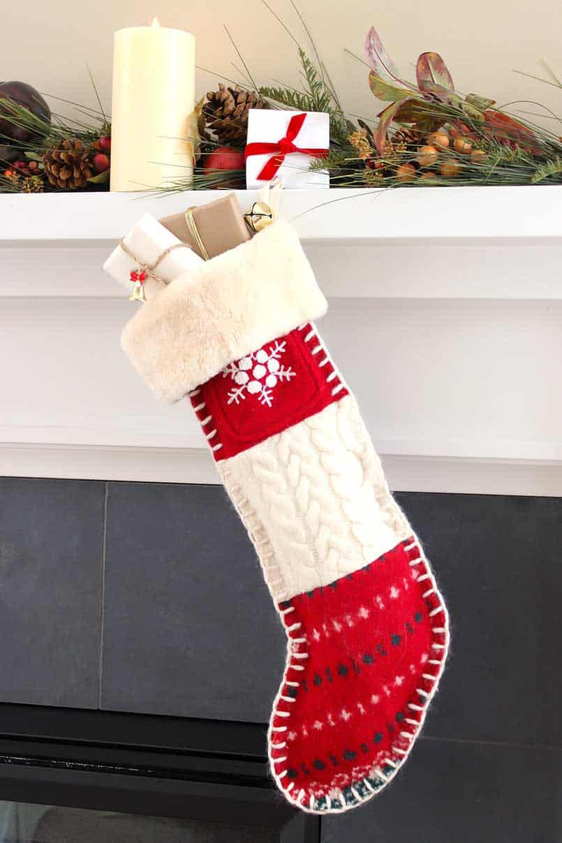 Christmas Stocking Ideas And Tutorial Diy Crafts Be Brave And Bloom