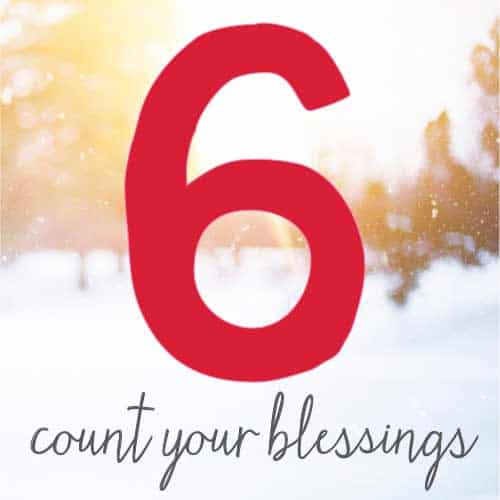 Count you blessings and other steps to health and wellness