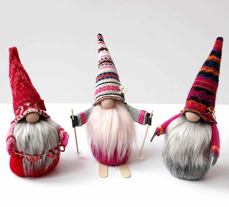 Handmade gnomes easy DIY craft tutorial