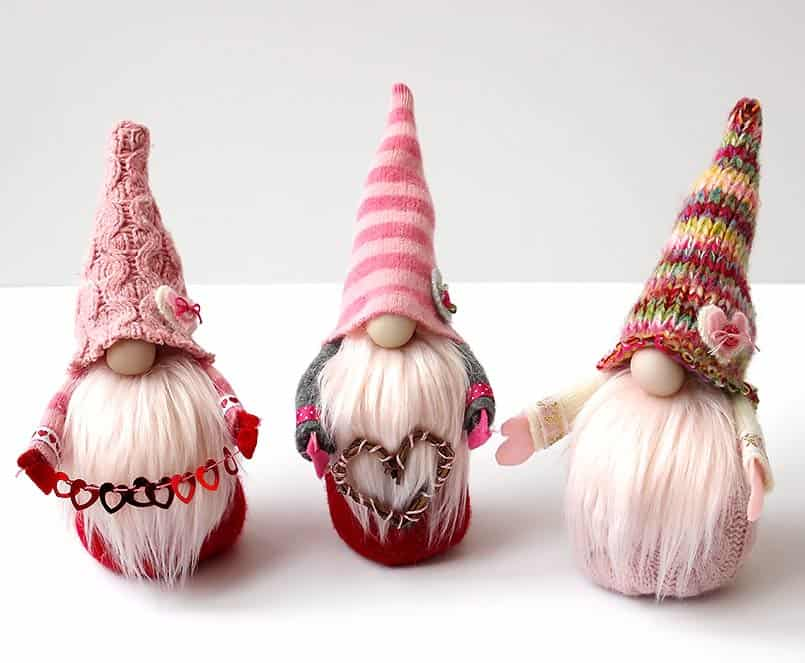 Handmade gnomes DIY tutorial for kids