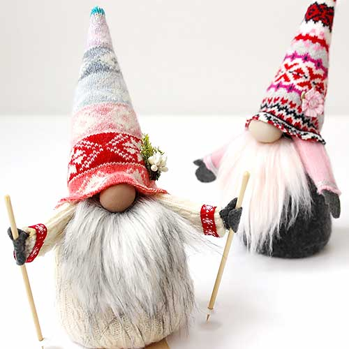 Valentine's Day Handmade gnome - tutorial for how to make them