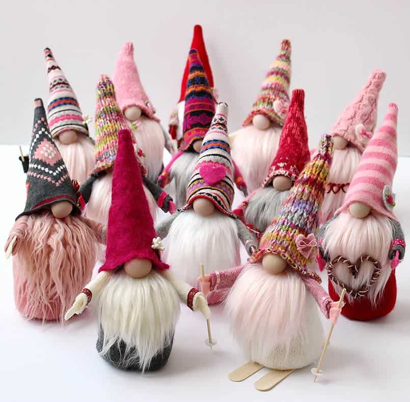 Handmade gnomes DIY tutorial for gifts