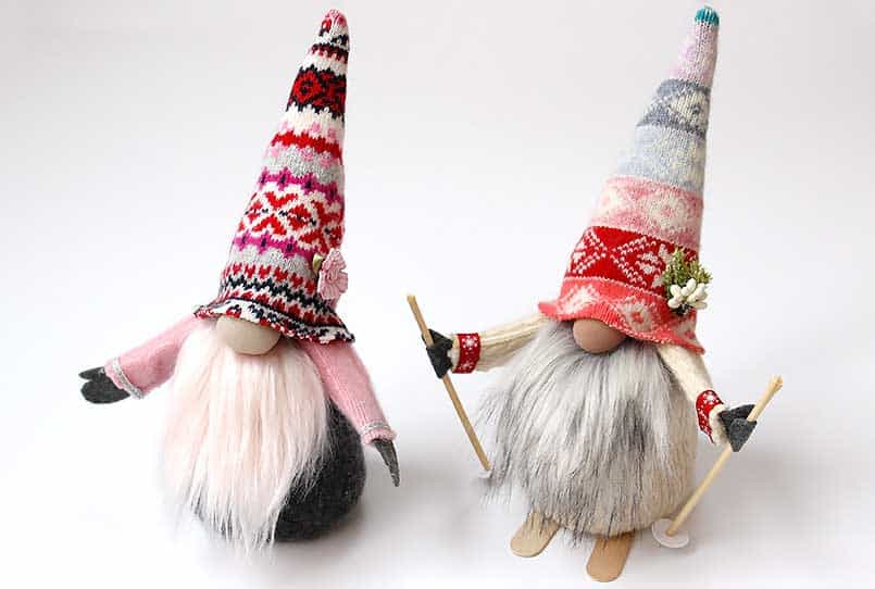 Swedish handmade gnome - DIY tutorial for how to make gnomes