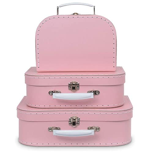 Pink Suitcases - Storage Product for Creative Projects