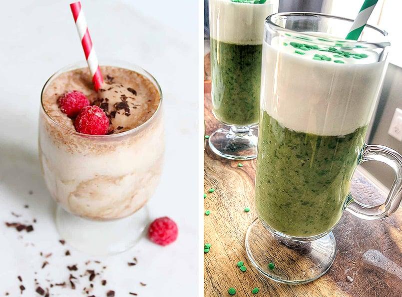 Keto homemade whipped cream recipe tops 2 delicious healthy shakes.