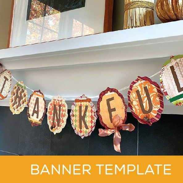 Thanksgiving Crafts Banner Kids Craft Project