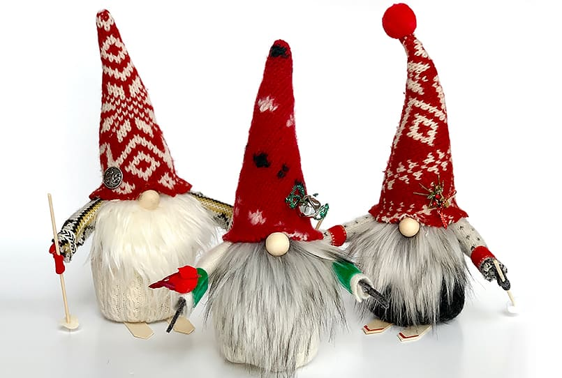 Homemade DIY Christmas gnomes