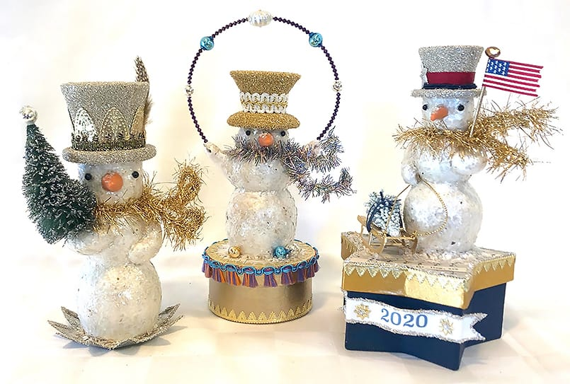 """Vintage-inspired hand made decor by Laura Kennedy of """"Esther and Irene"""""""