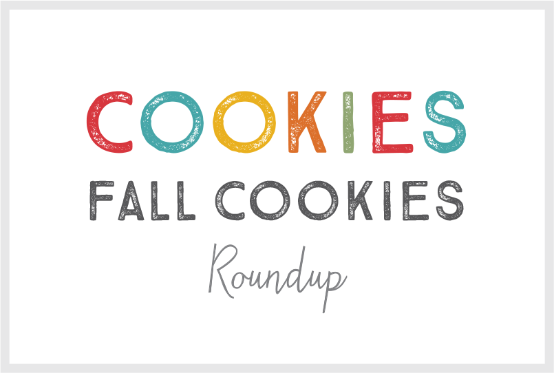 Blog posts header about Recipe Ideas for Fall Cookies.