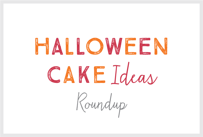 Title for Halloween Cake Ideas blog post.