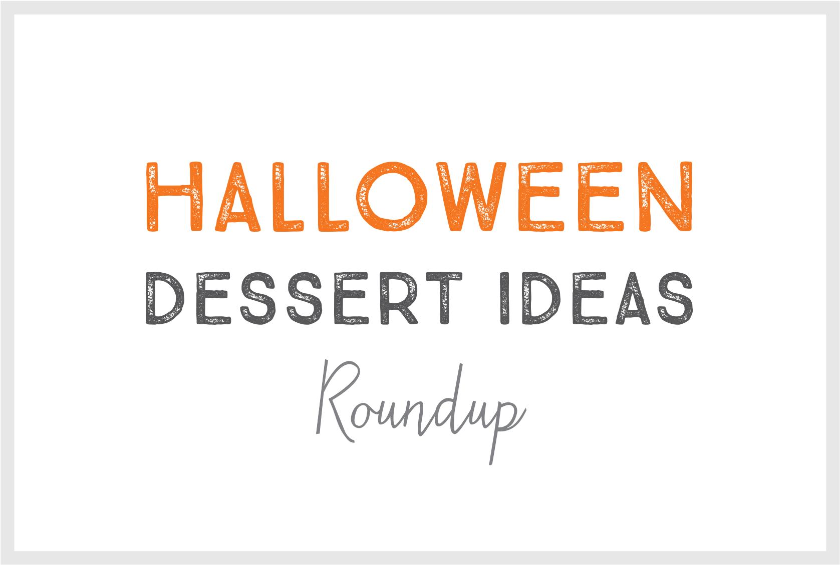 Title from the roundup, Halloween Dessert Ideas.